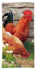 Barnyard Buddies Bath Towel