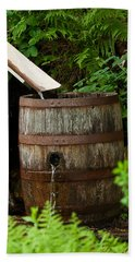 Barrel Of Water Hand Towel