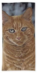 Barry The Cat Bath Towel