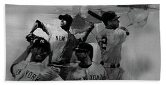 Base Ball Players Hand Towel by Gull G