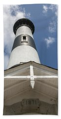 Base Of Bodie Island Lighthouse Hand Towel