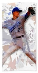 Hand Towel featuring the painting Baseball 23 by Movie Poster Prints