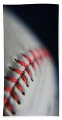 Baseball Fan Bath Towel by Rachelle Johnston