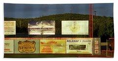 Baseball Sunset 2005 Hand Towel by Frank Romeo