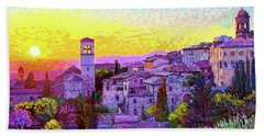 Basilica Of St. Francis Of Assisi Hand Towel