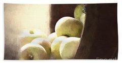 Basket Of Apples Hand Towel