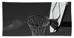 Basketball Court Bath Towel