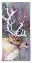 Basking In The Lights Hand Towel