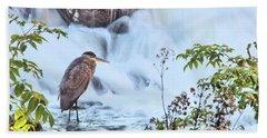 Bass Fishing Bath Towel by Debbie Stahre