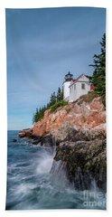 Bass Harbor Head Lighthouse Hand Towel