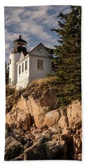 Bass Harbor Lighthouse Bath Towel