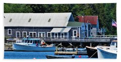 Bass Harbor Maine Bath Towel