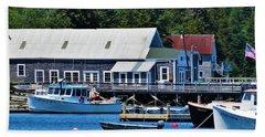 Bass Harbor Maine Hand Towel