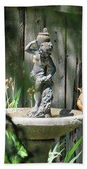 Bath Time - Images From The Garden Hand Towel by Brooks Garten Hauschild