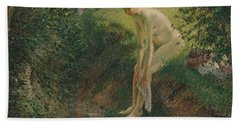 Bather In The Woods, 1895 Bath Towel