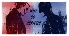 Batman And Joker Hand Towel