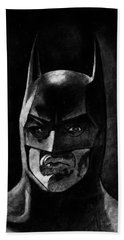 Batman Bath Towel by Salman Ravish