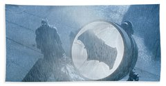 Batman V Superman Dawn Of Justice Bath Towel