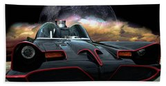 Batmobile Bath Towel
