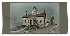 Battery Point Lighthouse Bath Towel