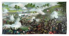 Battle Of Bull Run Bath Towel