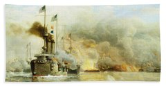 Battleships At War Hand Towel