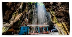 Batu Cave Sunlight Bath Towel
