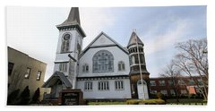 Bay Shore Methodist Episcopal Church Bath Towel