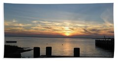 Bay Sunset Hand Towel