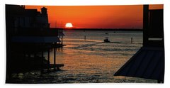 Bayou Vista Sunset Bath Towel