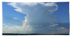 Bayshore Thunderhead Bath Towel by Mary Haber