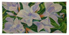 Bayside Oleander Hand Towel
