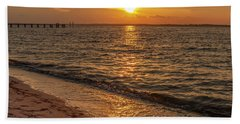 Bayside Sunset Hand Towel