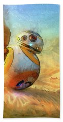 Bb-8 Spying Hand Towel
