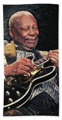 B.b. King II Hand Towel by Taylan Apukovska
