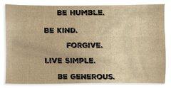 Be Generous Hand Towel