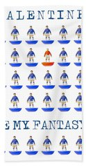 Be My Fantasy Bath Towel by John Colley