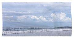 Beach And Clouds Bath Towel