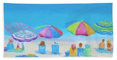 Beach Art - A Golden Day Bath Towel