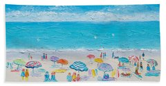 Beach Art - Fun In The Sun Hand Towel