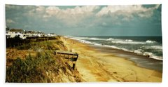 Beach At Corolla Bath Towel
