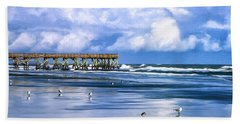 Beach At Isle Of Palms Hand Towel