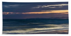 Beach At Night - Spiaggia Di Notte Bath Towel