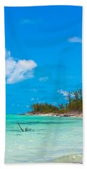 Beach At North Bimini Hand Towel