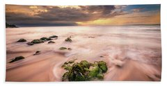 Beach At Paia Bath Towel