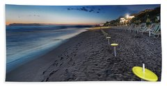 Beach At Sunset - Spiaggia Al Tramonto II Hand Towel