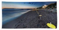Beach At Sunset - Spiaggia Al Tramonto II Bath Towel