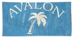 Beach Badge Avalon Bath Towel