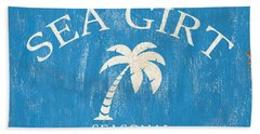 Beach Badge Sea Girt Bath Towel
