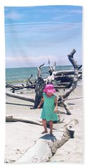 Beach Balancing Act Hand Towel